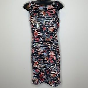 Frank Lyman Design mixed media sleeveless dress 10